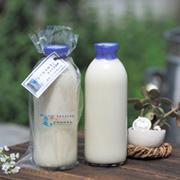 自然放牧牛乳