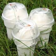 自然放牧牛乳のスイーツ