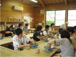 陶芸教室の様子